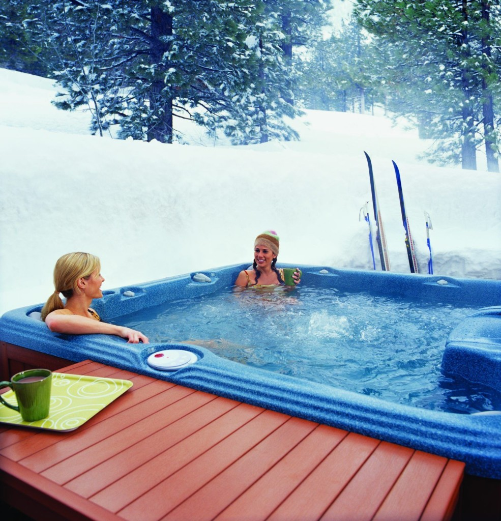 Sundance - dżakuzi zimą